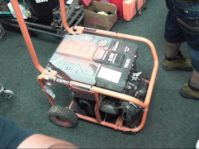 RIDGID TOOLS Generator 6800 WATT ELECTRIC START