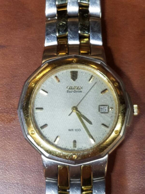 CITIZEN Gent's Wristwatch A160-H21521 TA ECODRIVE