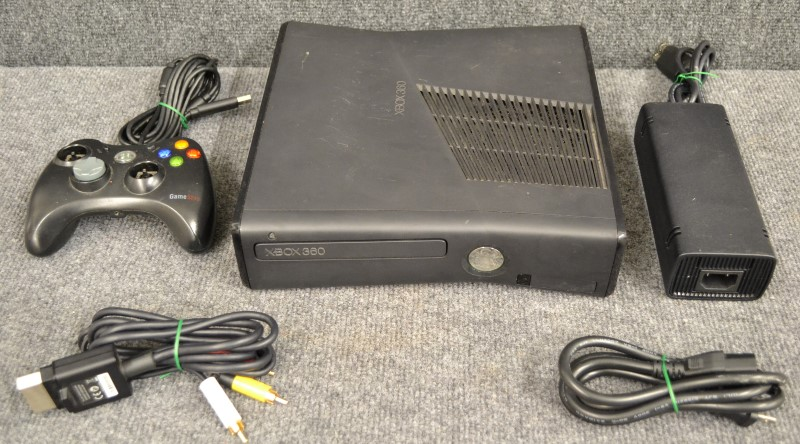 MICRO XBOX 360 S 1439 TOYS AND GAMES VIDEO GAME SYSTEM MICROSOFT XBOX 360  BLK