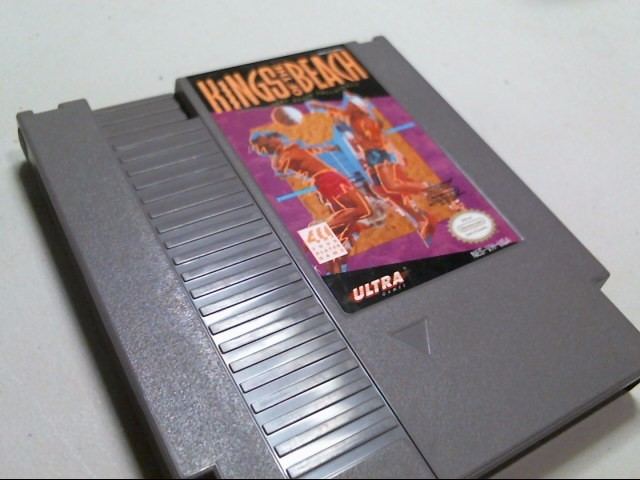 NINTENDO NES GAME: KINGS OF THE BEACH