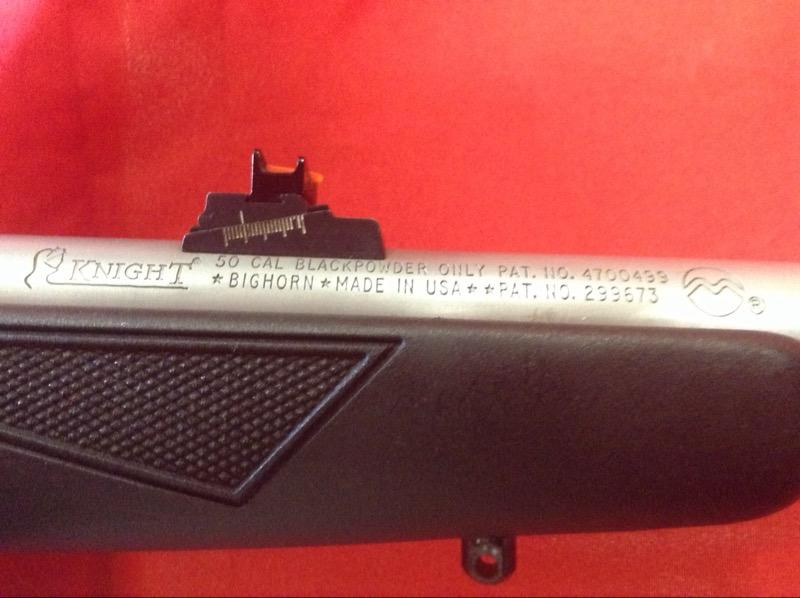 KNIGHT Cap & Ball 50 CALIBER BLACK POWDER