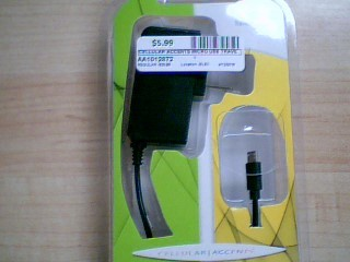 CELLULAR ACCENTS MICRO USB TRAVEL CHARGER