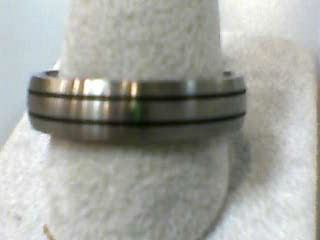 Gent's Wedding Band Silver Titanium 2.2dwt