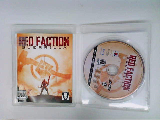 SONY PS3 RED FACTION GUERILLA