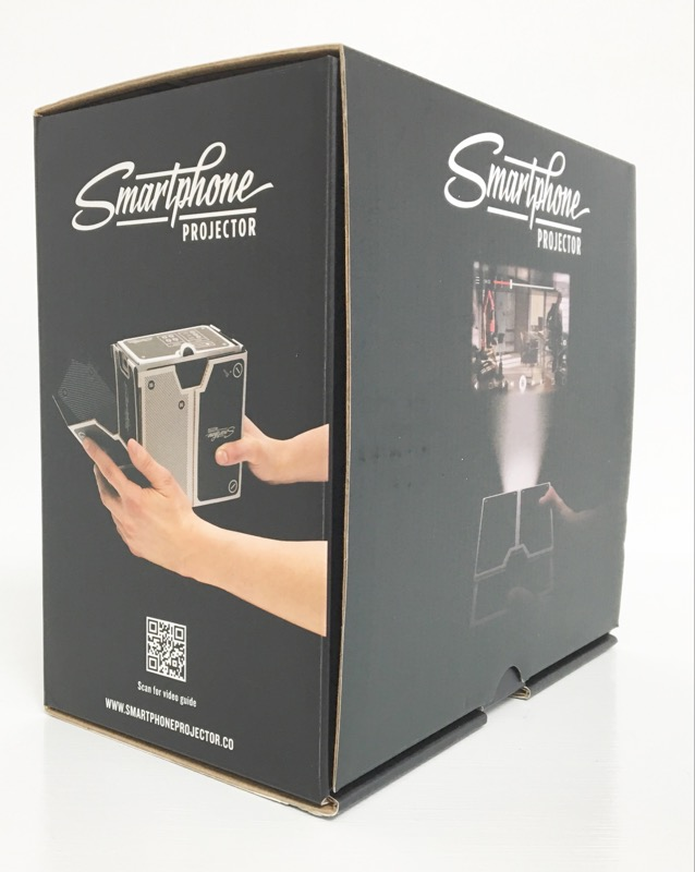 *NEW* Cardboard DIY Portable/Mobile Smartphone Projector