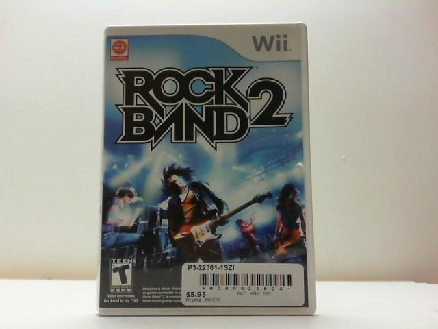 NINTENDO Nintendo Wii Game ROCK BAND