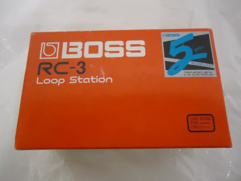 BOSS Effect Equipment RC-3