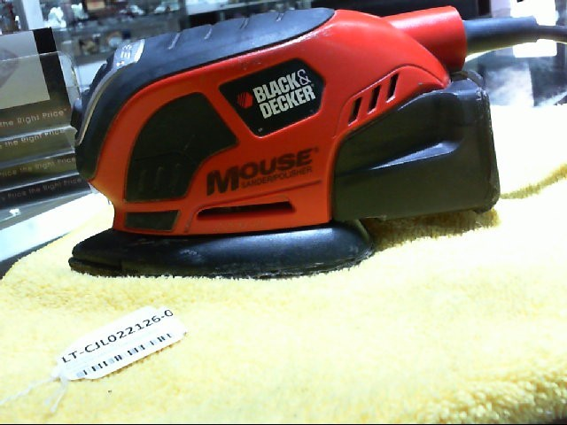 BLACK&DECKER Polisher DECKER MOUSE SANDER