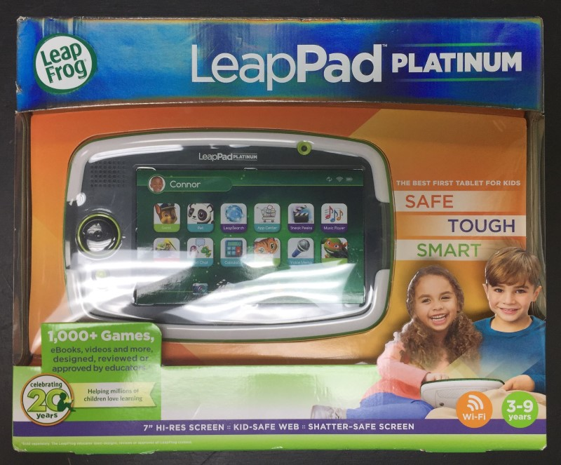 LeapFrog LeapPad Platinum Kids Learning Tablet **Green**