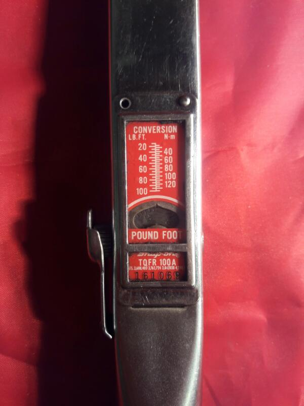 SNAP ON Wrench TQFR100A