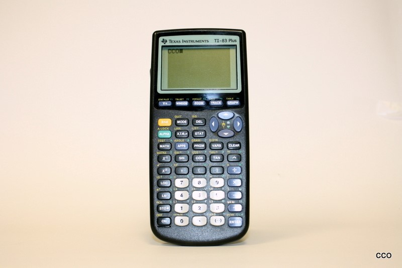 TEXAS INSTRUMENTS TI-83 PLUS GRAPHING Calculator with Cover