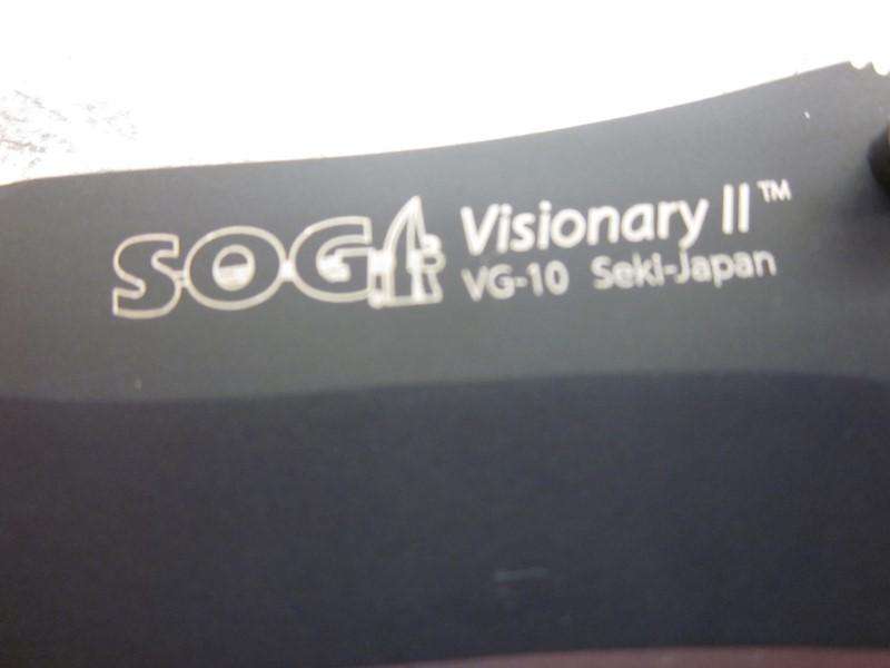 SOG POCKET KNIFE VISIONARY II VG