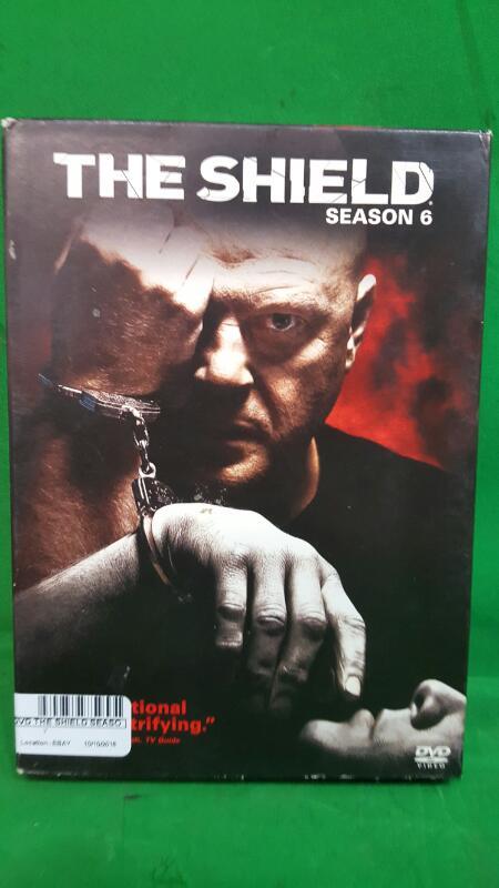The Shield - Season 6 Sixth (DVD, 2008, 4-Disc Set)