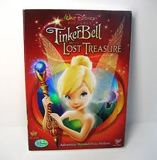 Tinker Bell And The Lost Treasure (DVD, 2009) With Slip Cover