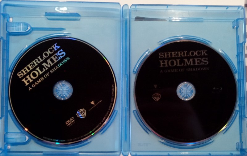 SHERLOCK HOLMES ADVENTURE BLU-RAY DVD, STARRING ROBERT DOWNEY JR.