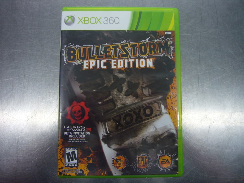 MICROSOFT XBOX 360 Game BULLETSTORM EPIC EDITION