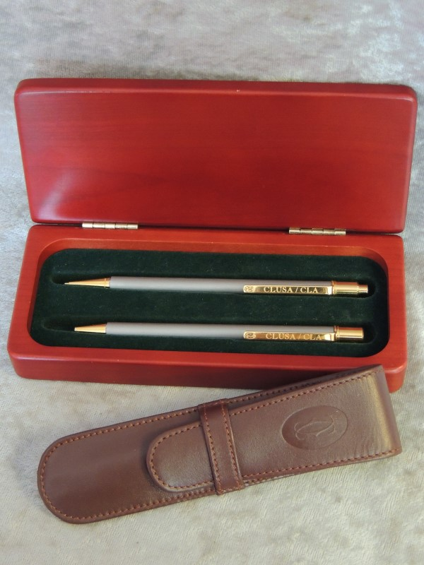 Cartier Stylos Must De Cartier Pen and Pencil Set