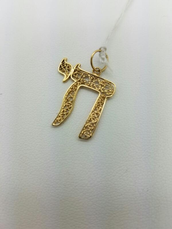CHAI Gold Charm 14K Yellow Gold 0.6dwt