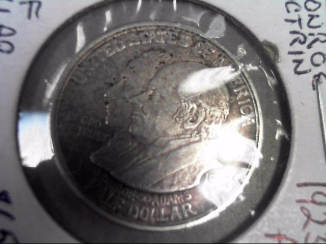UNITED STATES Silver Coin MONROE AND ADAMS HALF DOLLAR