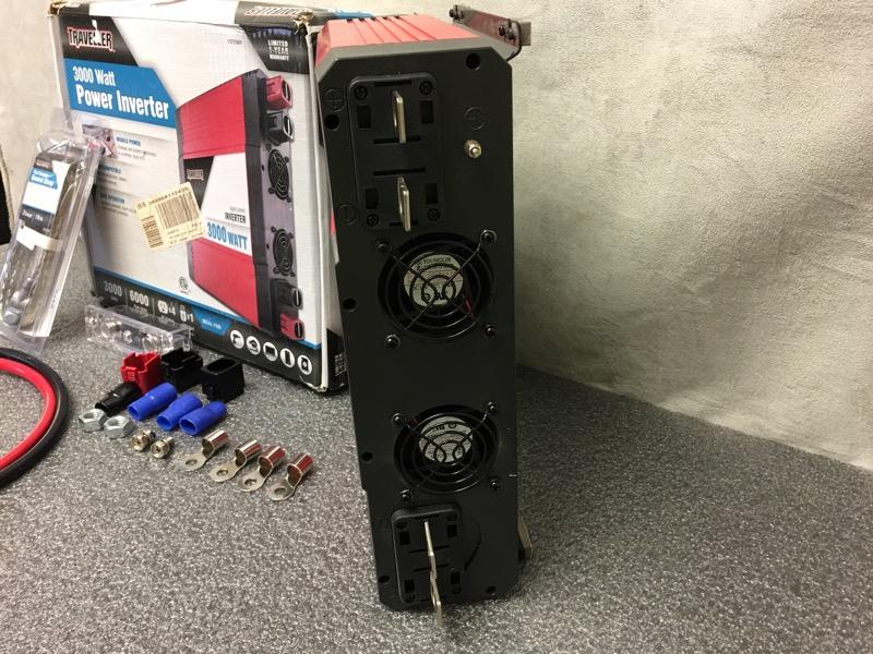 Traveller 1072569 3000 Watt Digital Power Inverter In Box