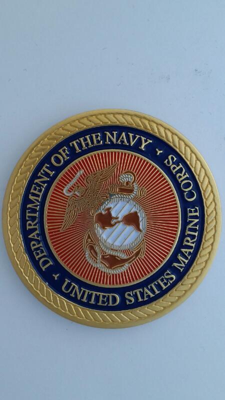 "USMC 2 Medallion Set - Javelin ""Fire & Forget"" & ITAS Saber"