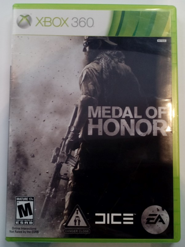 MICROSOFT XBOX 360 MEDAL OF HONOR