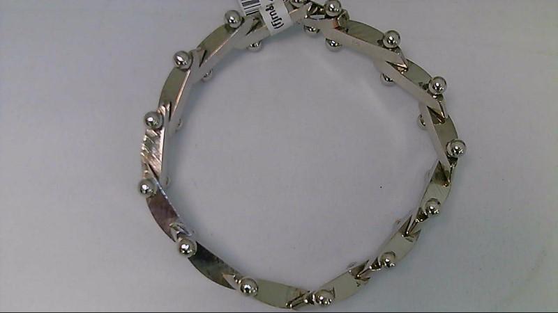 "7.5"" Stainless Steel Link Bracelet"