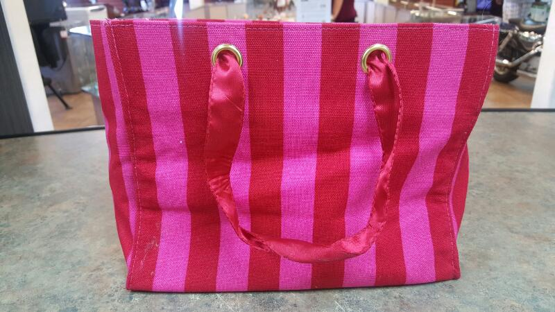 VICTORIA'S SECRET Handbag RED/PINK/GOLD TOTE
