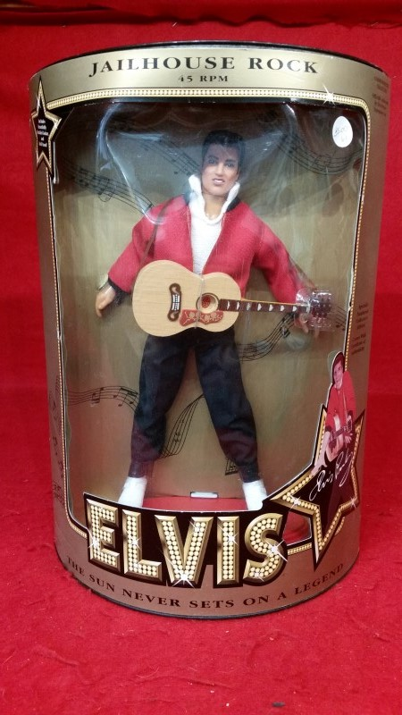 "Elvis Presley Jail House Rock 12"" Doll Hasbro 1993"