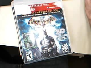 SONY Sony PlayStation 3 Game BATMAN ARKHAM ASYLUM GAME OF THE YEAR EDITION