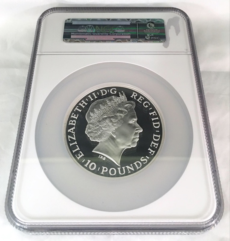 2013 Great Britain Britannia 10 Pound 5oz Ultra Cameo First Release NGC PF69