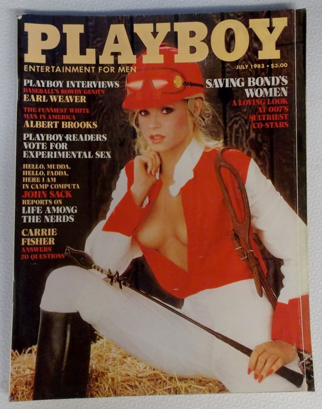 PLAYBOY MAGAZINES FROM 1980-1987