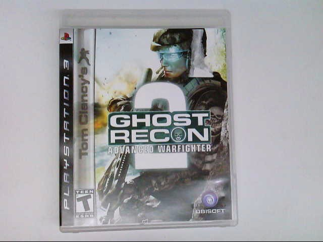 SONY PS3 GHOST RECON ADVANCED WARFIGHTER 2