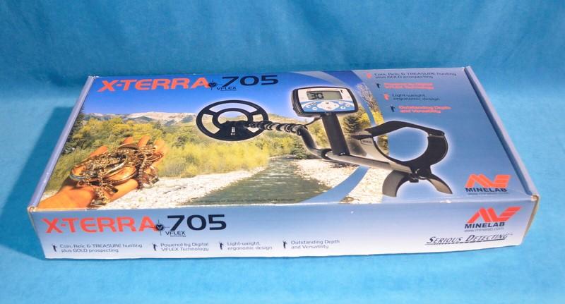 MINELAB Metal Detector X-TERRA 705 VFLEX TECHNOLOGY
