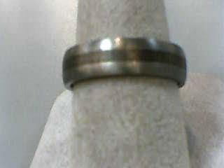 Gent's Wedding Band Antique Tungsten 2.1dwt