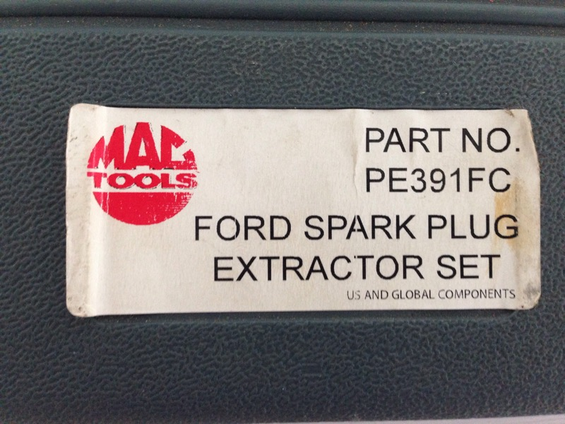 Mac Tools FORD TRITON SPARK PLUG EXTRACTOR KIT PE391FC