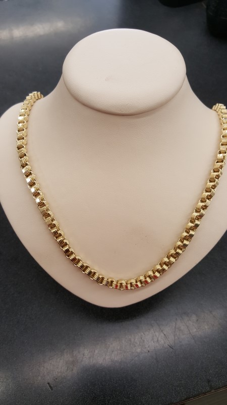 "26"" Gold Chain 10K Yellow Gold 24.9g"