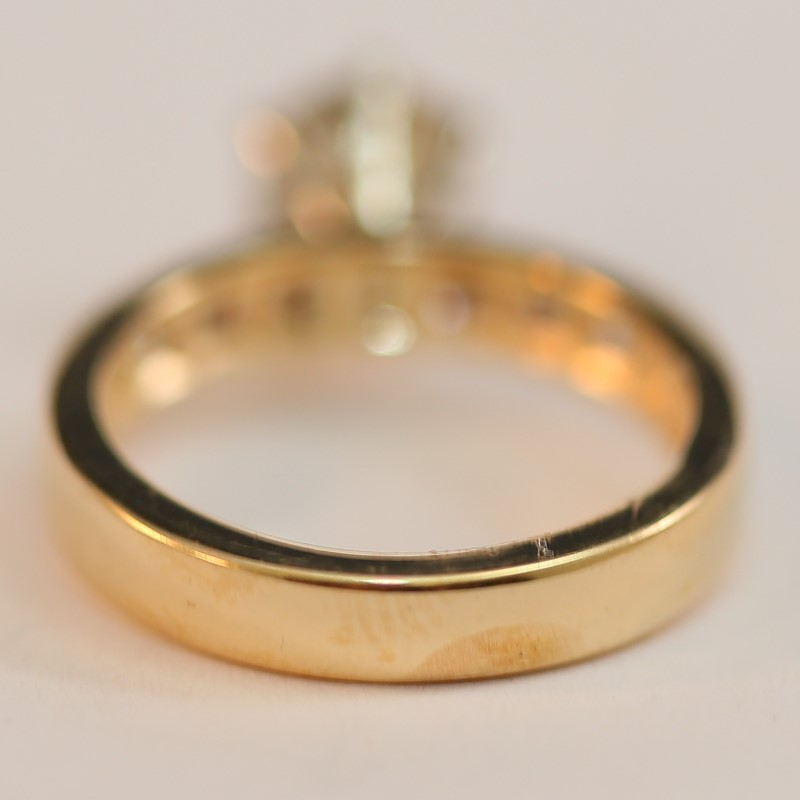 18K Brilliant Cut Diamond 1.15ct Ring Size 5.75