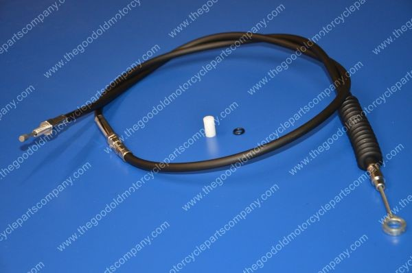BIKERS CHOICE Motorcycle Part 066146 87-94 FXR BLACK VINYL CLUTCH CABLE