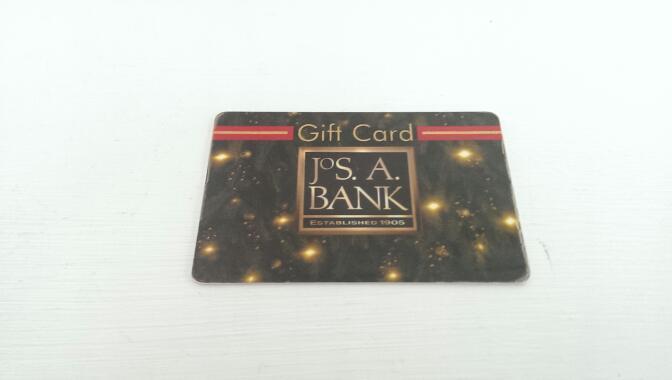 $40.00 JOS. A. BANK GIFT CARD