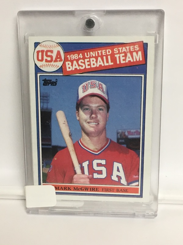 1985 TOPPS MARK MCGWIRE 401