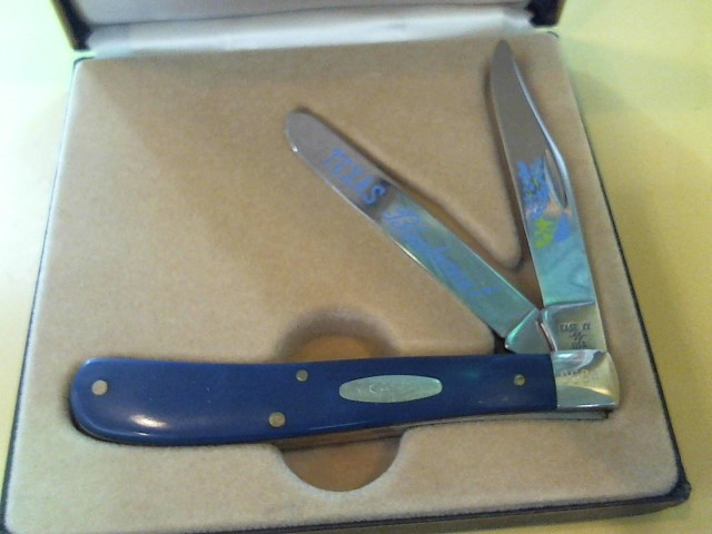 CASE KNIFE Pocket Knife BLUEBONNET