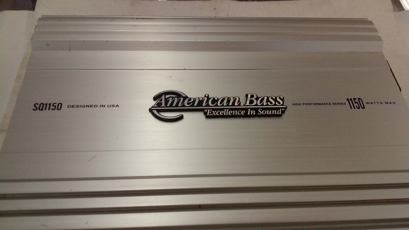 American Bass 1150 Watt Car Amp