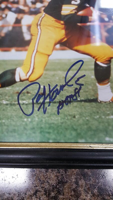 Paul Hornung Signed Green Bay Packers (16x12) Photo Framed