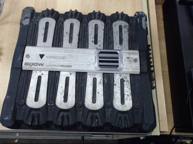 KENWOOD Car Amplifier KAC-7201