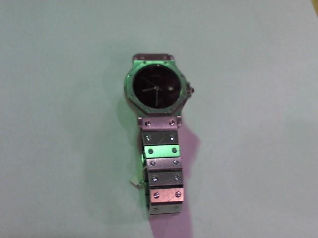 CARTIER Gent's Wristwatch SANTOS STAINLESS ROUND