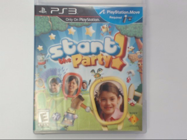 Sony PlayStation 3 Game START THE PARTY