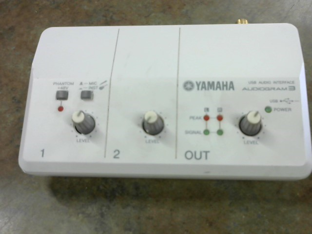 YAMAHA DJ Equipment AUDIOGRAM3