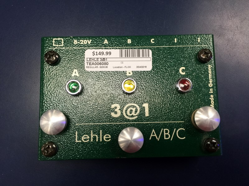 LEHLE 3@1 SWITCHER PEDAL