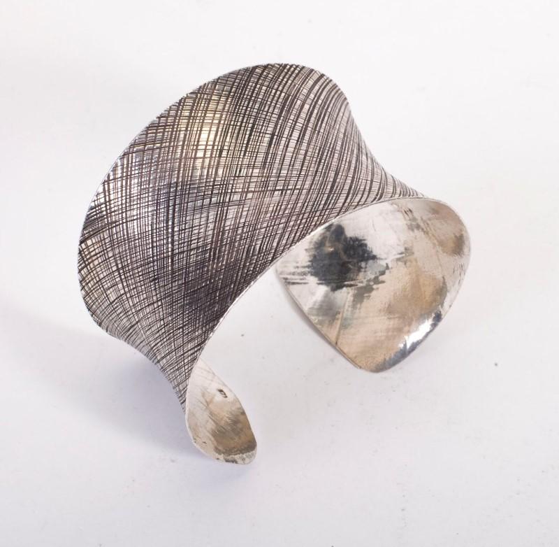 Silver Curb Bracelet 925 Silver 37.5g